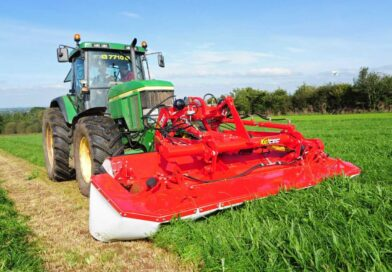 Irish company launches first steerable front mower