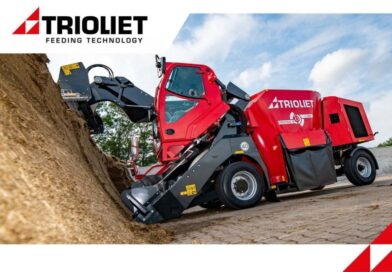 Triotrac M a new self-propelled feed mixer from Trioliet
