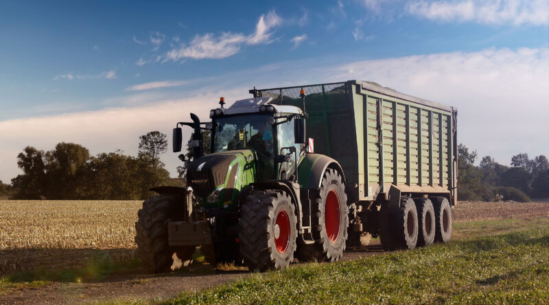 Continental Hybrid tyre ready for silage season