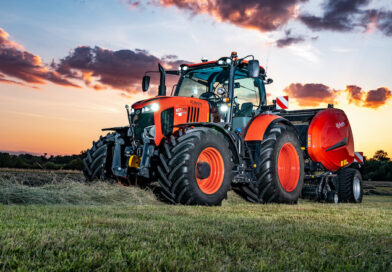 Kubota awarded silver medal for tractor and baler TIM combination