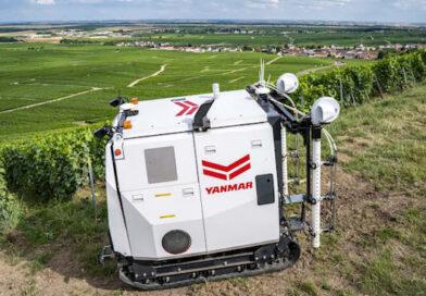 Yanmar Reveals Leading Edge Autonomous Vineyard Robot